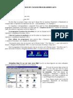 Utilisation Du CD Rom AICS