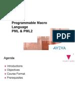 VDP Programmable Macro Language