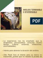 ANÁLISIS TERMINABLE E INTERMINABLE