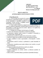 Regulament Teza Licenta 2013