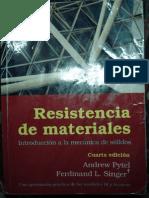 Resistencia de Materiales Singer y Pytel