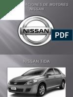 Especificaciones de Motores Nissan
