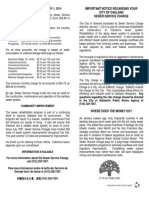 PRR 3061 Sewer Service Charge Oak044887 3-21-14
