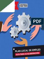 Guia Para La Elaboracion de Plan Local de Empleo