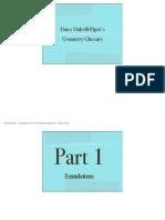 daisy geometry glossary