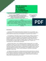Instrumentos de pesquisa científica qualitativa