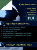 nepal health status