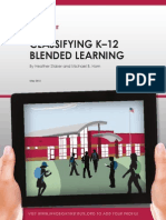 Classifying K-12 Blended Learning 2012