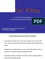 Blue Ocean Strategy by Muhammad Zia