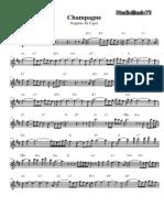 Peppino Di Capri - Champage piano sheet