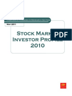 Stock Market Investor Profile 2010