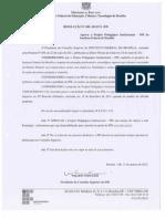 2939_Resolução RIFB_008_2012 Aprova o PPI