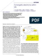 2007 - Observation of Energetic Electrons Within Magnetic Islands