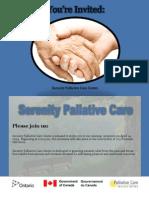 Sample Event Materials Package (Invitation/Envelope, Pull-up Banner, Event Agenda)