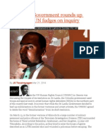 Sri Lanka Government Rounds Up Activists as UN Fudges on Inquiry