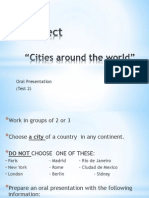 Project Cities Around the World