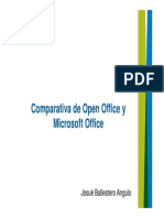 Open Office y Microsoft Office