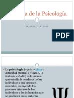 58493677 Historia de La Psicologia 1