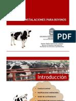 EXPOSICION DISEÑO DE ESTRUCTURAS PARA BOVINOS