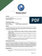 Programa Analitico Simulacion y Modelos - Base