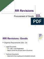 Revised IRR RA 9184 (Goods)