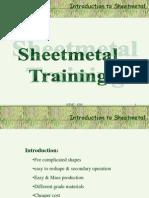 Sheetmetal Trg