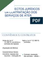 A Contratacao Dos Servicos de Ater Na Legislacao