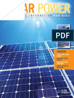 Solar Energy Brochure for Kids