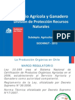 Servicio Agricola y Ganadero Division de Proteccion Recursos Naturales Cladio Cardenas