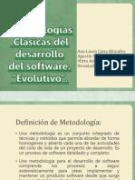 Metodologías Clásicas del desarrollo del software