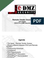 Remote Vendor Access