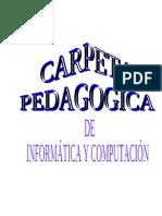 Carpeta Pedagogica Nilton.