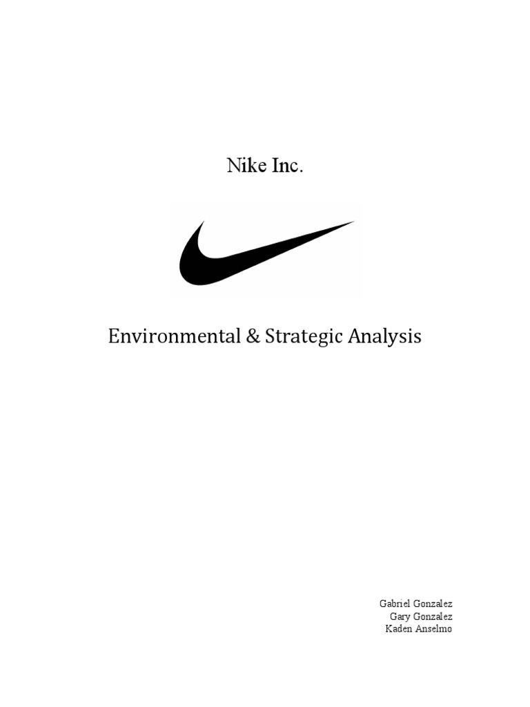 nike recommendation report