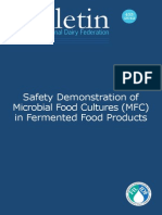 Bulletin IDF 455 2012 Safety Demonstrations of MFC in Fermented Food Products
