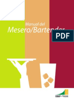 Manual Mesero y Barman