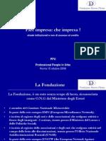 Presentazione Finanza agevolata_15_10_2009