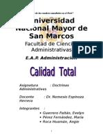 13763898 Monografia de La Calidad Total