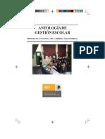 Antologia de Gestion Escolar
