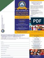 206823542 Inclusion Mini Conference Brochure Spanish