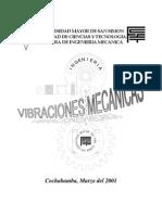 VIBRACIONES MECÁNICAS univ san simon - bolivia