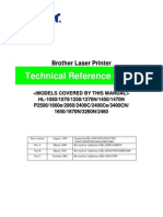 Brother Service Manual Laser Printer Technical Reference Guide