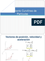 Movimiento Curvilíneo de Partículas