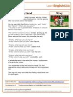 Stories Little Red Riding Hood Transcript Final 2012-07-13