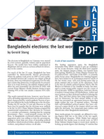 Alert 2 Bangladeshi Elections