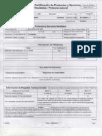 certificacion banco001