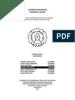 76882798 Laporan Praktikum Mekanika Tanah