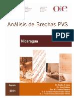 Nicaragua PVSGapAnalysis FinalReport