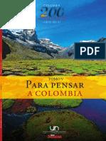 Colombia 200 Anos de Identidad (1810 2010) - Tomo v - Para Pensar a Colombia