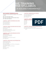 iBwave Fundamentals Course Syllabus