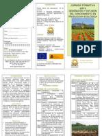 Jornada Formativa sobre Generació i Difusió del Coneixement en Producció Ecològica